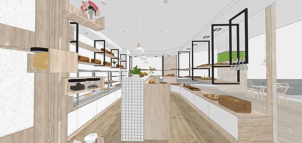 麵包店室內設計