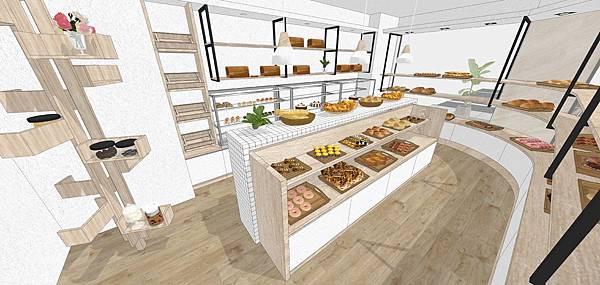 麵包店裝修