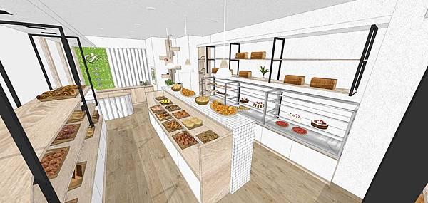 台中麵包店室內設計推薦