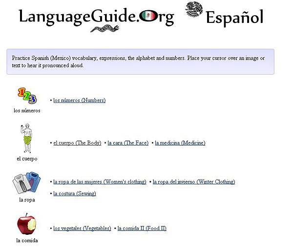 LanguageGuide Spanish