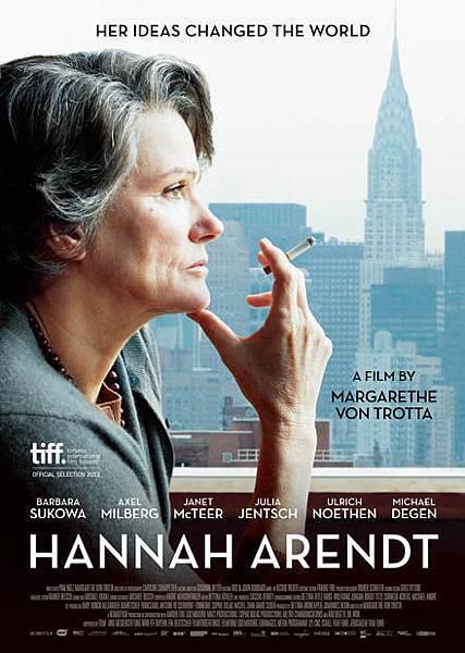 《德文專區》電影:漢娜鄂蘭:真理無懼 Hannah Arendt