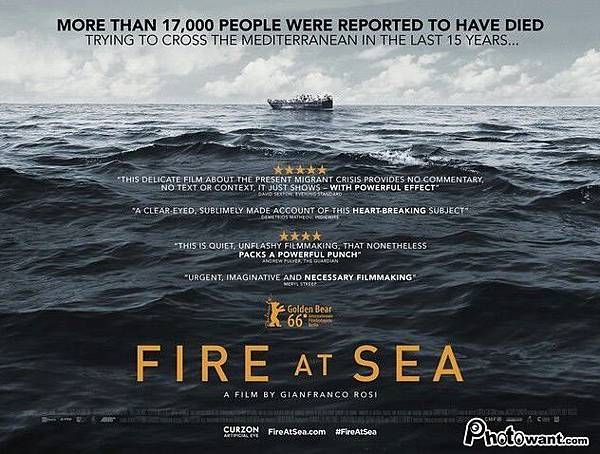海上焰火 Fire at Sea