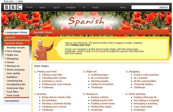 在BBC學西班牙語