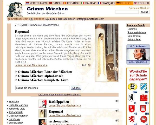 Grimmstories.com