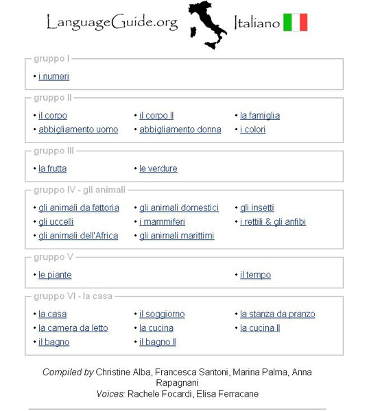 LanguageGuide Italiano (初學義大利語)