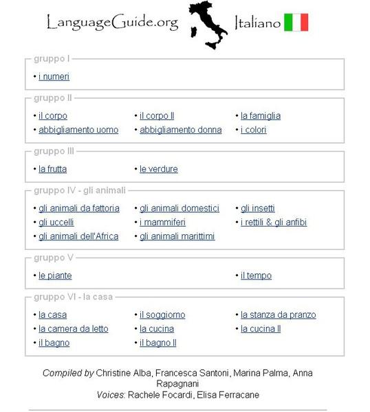LanguageGuide Italiano (初學義大利語)
