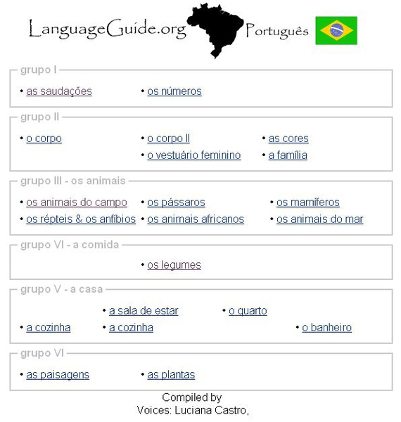 LanguageGuide Portugues (初級學葡萄牙語)