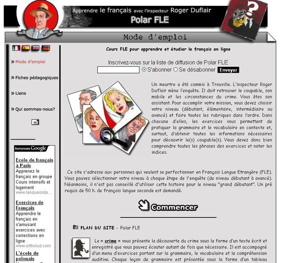 Polar FLE (扮偵探學法語)