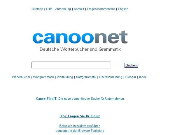 《德文專區》德語線上學習網站:Canoonet