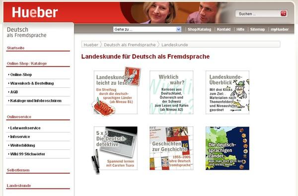 hueber.de(從風俗文化中學德語)
