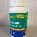 我的發奶食物momilk葫蘆巴膠囊-正面