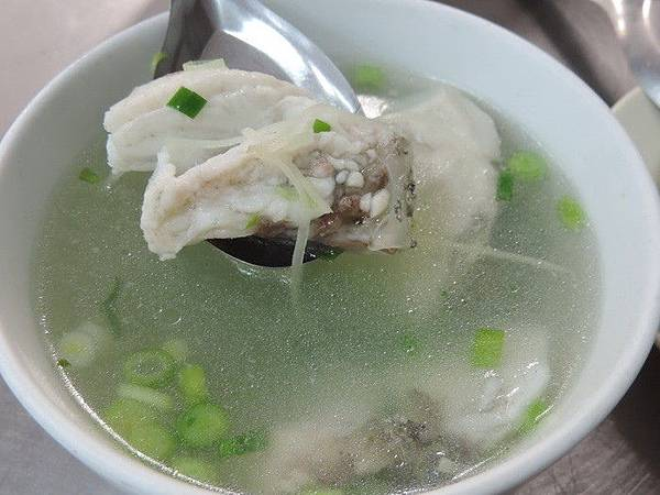 我的發奶食物-薑絲魚湯