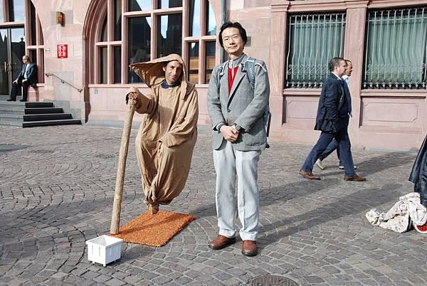 德國法蘭克福街頭藝人