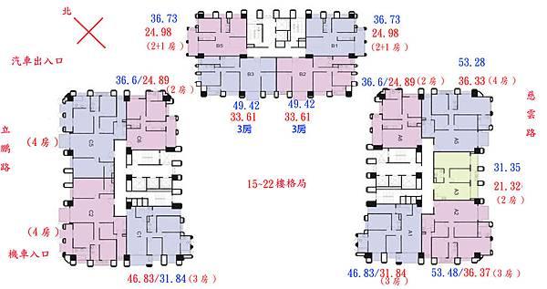 東方明珠15F-22無電話