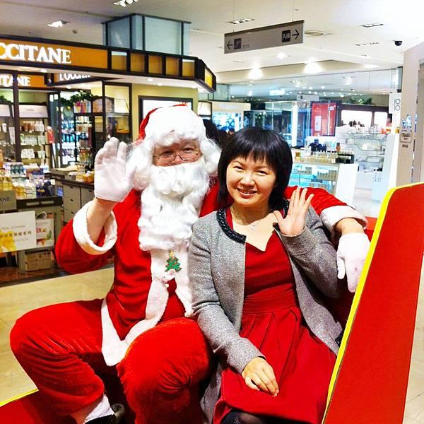 Cindy & Santa!!
