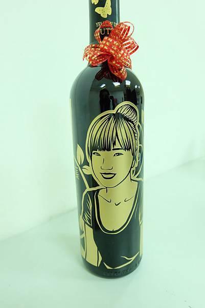 酒瓶雕刻開箱文