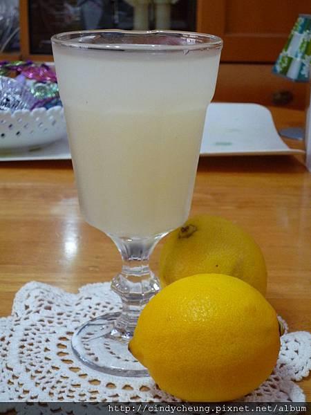 薏米檸檬凍飲