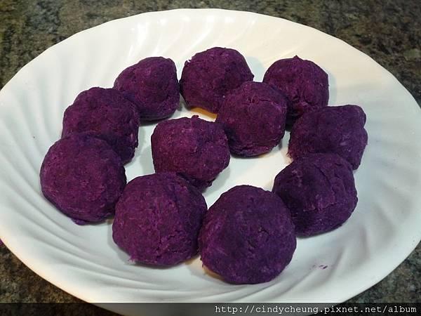 芝心紫薯球 - 4