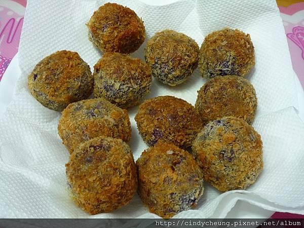 芝心紫薯球 - 7 & 8