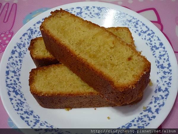 特濃濕潤檸檬杏仁蛋糕
