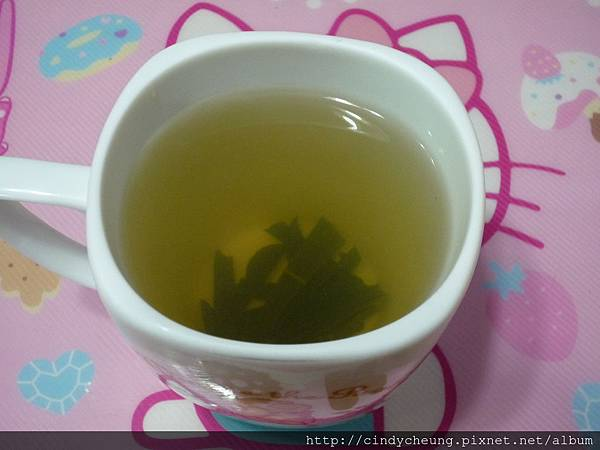 蜂蜜檸檬葉茶