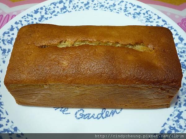 香蕉杏仁蛋糕