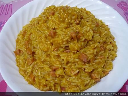 南瓜栗子濃湯燴飯