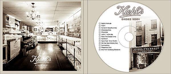 Kiehl's CD內.