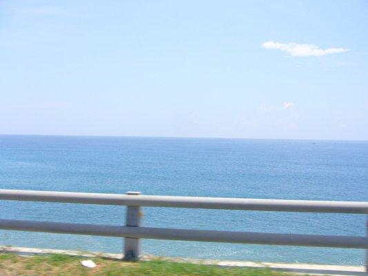 沒帶相機沒拍到我心目中的東海岸