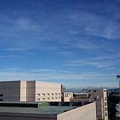 清晨的天空