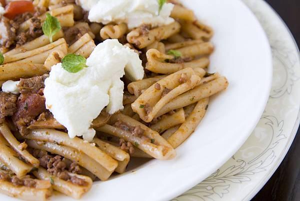 羊肉紅醬義大利麵-2