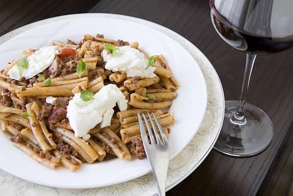 羊肉紅醬義大利麵-3