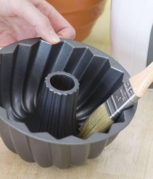 香蕉巧克力花型磅特蛋糕-6