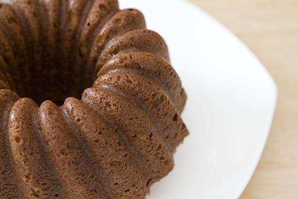 香蕉巧克力花型磅特蛋糕-3