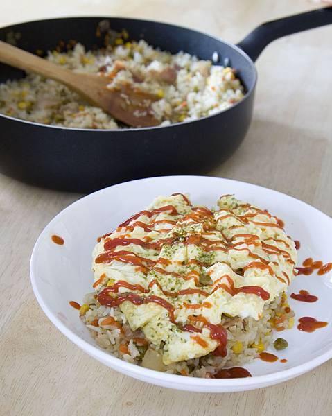 日式ふわふわ蛋包飯-4