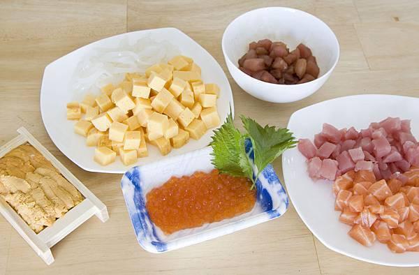 紫蘇海鮮丼-5