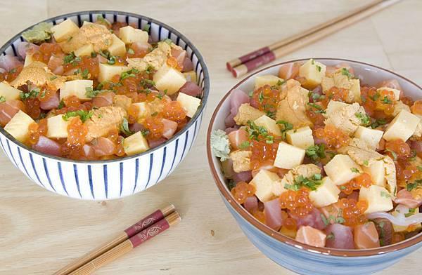 紫蘇海鮮丼-1