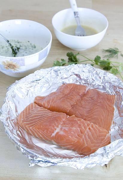 烤鮭魚佐蒔蘿優格醬-4