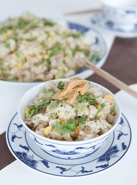 海膽蟹肉炒飯 - 3
