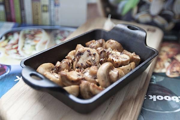 巴薩米可醋炒蘑菇 - 3