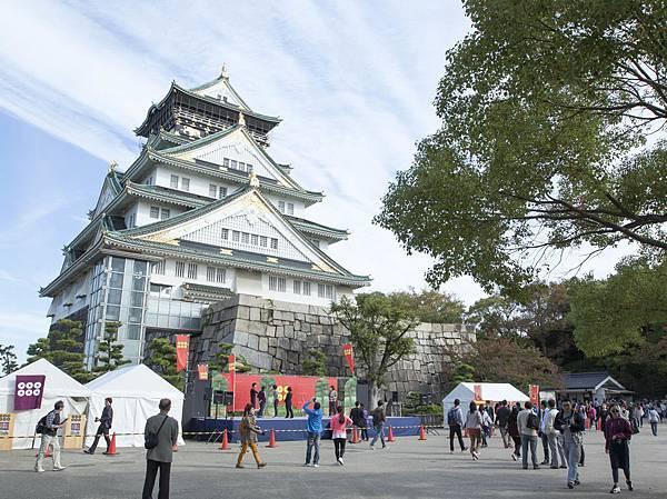 大阪城2015年10月 - 4