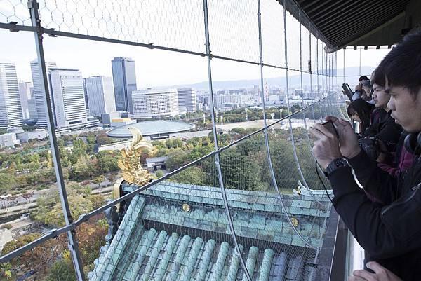 大阪城2015年10月 - 2