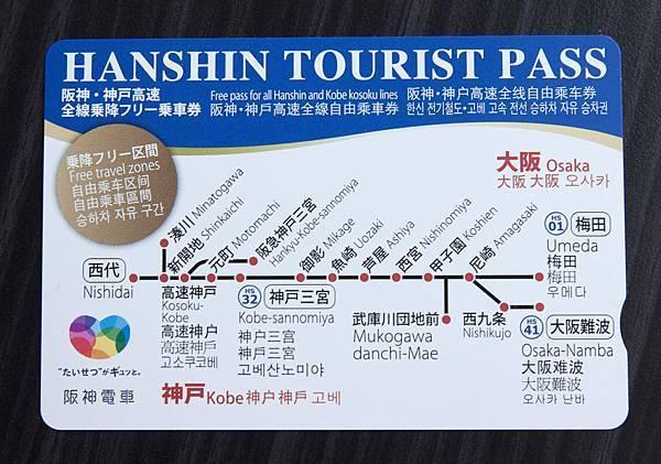 Hanshin Tourist Pass - 1