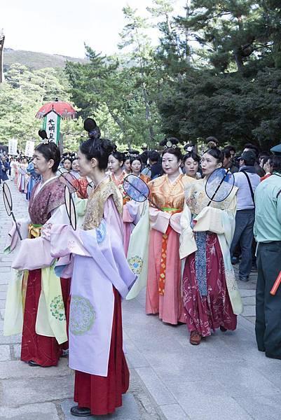 奈良2015玄蕎麥麵及公園鹿群 - 1