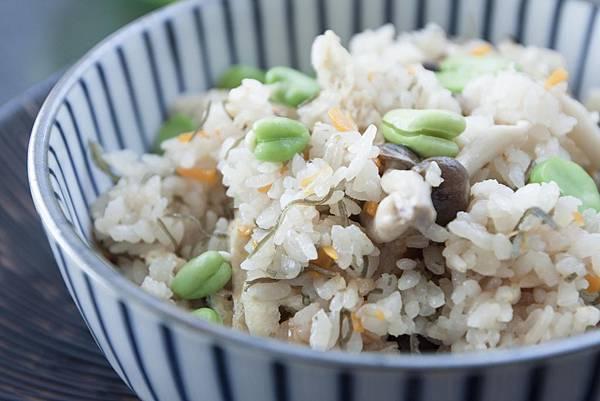 塩昆布炊飯 - 1