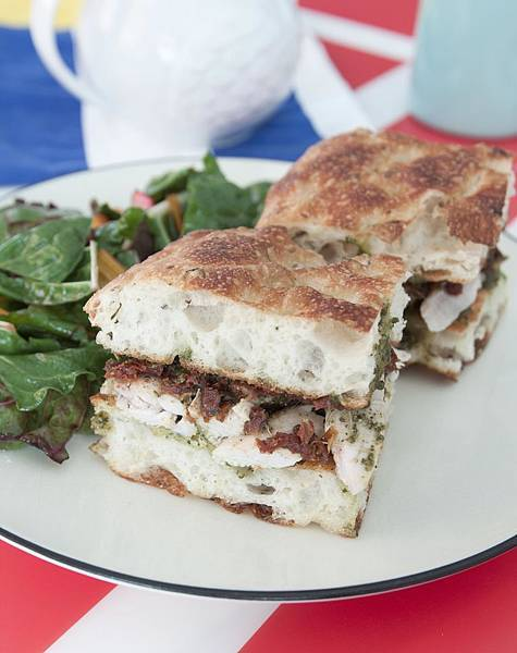 Rotisserie Chicken Pesto Focaccia Sandwich by Me - 5.jpg