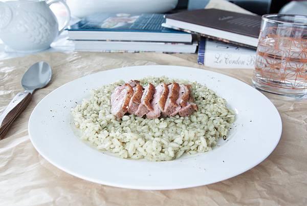 鴨胸青醬燉飯 - 2
