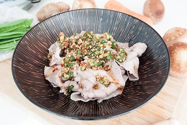 蒜味豬肉片 - 4