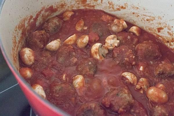 蕃茄肉丸吸管麵 - 1