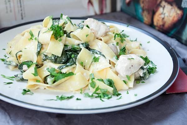 白醬雞肉義大利麵 - 3